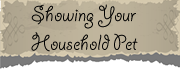 Showing Your Household Pet